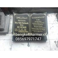 Plakat Prasasti Batu Nisan Murah dan Monumen Pemakaman Kuburan Model Buku Alquran Islam Muslim Bahan Marmer Granit Jakarta Surabaya Bandung 1