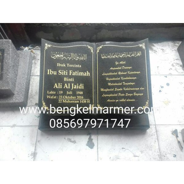 Papan Kuburan Kok Pakai Marmer