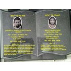 Batu Nisan dan Monumen Plakat Prasasti Kuburan Marmer Granit Untuk Kristen Nasrani Salib Pemakaman Kuburan Jakarta SUrabaya Medan Bandung 1