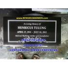 www.bengkelmarmer.com Batu Nisan dan Monumen Plakat Prasasti Pemakaman Kuburan Murah Jakarta Timur 4