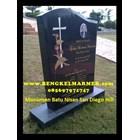 www.bengkelmarmer.com Batu Nisan dan Monumen Plakat Prasasti Pemakaman Kuburan Murah Jakarta Timur 7