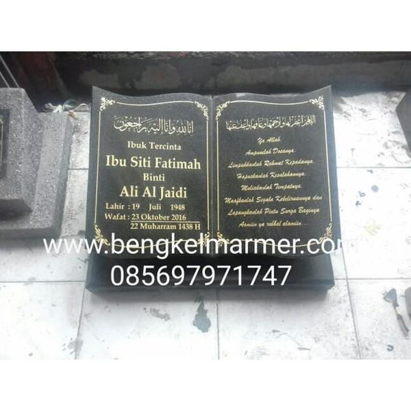 www.bengkelmarmer.com Batu Nisan dan Monumen Plakat Prasasti Pemakaman Kuburan Murah Jakarta Timut