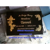 Beli www.bengkelmarmer.com Batu Nisan dan Monumen Plakat Prasasti Pemakaman Kuburan Murah Jakarta Pusat 4
