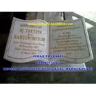www.bengkelmarmer.com Batu Nisan dan Monumen Plakat Prasasti Pemakaman Kuburan Murah Jakarta Utara 8