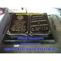 Distributor www.bengkelmarmer.com Batu Nisan dan Monumen Plakat Prasasti Pemakaman Kuburan Murah TPU PONDOK RANGON 3