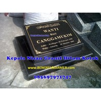 Distributor www.bengkelmarmer.com Batu Nisan dan Monumen Plakat Prasasti Pemakaman Kuburan Murah TPU TANAH KUSIR JAKARTA 3
