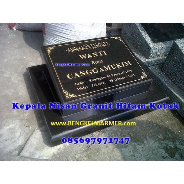 www.bengkelmarmer.com Batu Nisan dan Monumen Plakat Prasasti Pemakaman Kuburan Murah TPU TANAH KUSIR JAKARTA