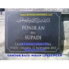 www.bengkelmarmer.com Batu Nisan dan Monumen Plakat Prasasti Pemakaman Kuburan Murah TPU KARET BIVAK JAKARTA 5