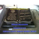 www.bengkelmarmer.com Batu Nisan dan Monumen Plakat Prasasti Pemakaman Kuburan Murah TPU JERUK PURUT 4
