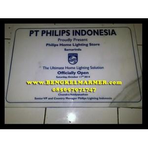 www.bengkelmarmer.com Batu Prasasti Plakat Peresmian Kantor Gedung Pabrik Presiden Kementerian Tangerang
