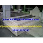 www.bengkelmarmer.com Kijing Bangunan Makam Lengkap Batu Nisan dan Monumen Plakat Prasasti Pemakaman Kuburan Murah Kirim Pasang Jakarta Selatan 5