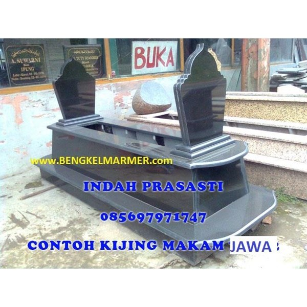 www.bengkelmarmer.com Kijing Bangunan Makam Lengkap Batu Nisan dan Monumen Plakat Prasasti Pemakaman Kuburan Murah Kirim Pasang Jakarta Selatan