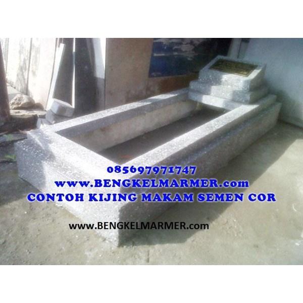 www.bengkelmarmer.com Kijing Bangunan Makam Lengkap Batu Nisan dan Monumen Plakat Prasasti Pemakaman Kuburan Murah Kirim Pasang Bogor Bandung Tangerang Bekasi Depok Cikarang