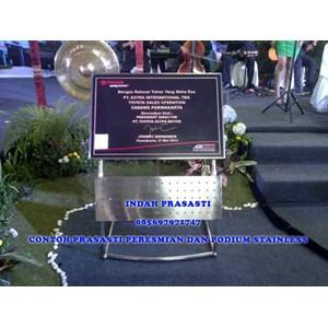 www.bengkelmarmer.com Harga Contoh Batu Prasasti Marmer Plakat Peresmian Gedung Kantor Pabrik Jakarta Bogor Depok Tangerang Bekasi Cikarang Karawang