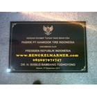 www.bengkelmarmer.com Contoh Ukuran Harga Batu Prasasti Marmer Plakat Peresmian Gedung Kantor Pabrik Jakarta Bogor Depok Tangerang Bekasi Cikarang Karawang 1