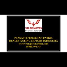 www.bengkelmarmer.com Batu Prasasti Plakat Peresmian Marmer Granit Pabrik Gedung Kantor Dealer Mobil Wuling Motor Jakarta Indonesia