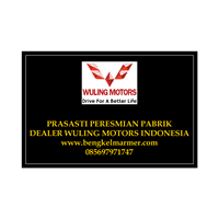 Jual www.bengkelmarmer.com Batu Prasasti Plakat Peresmian Marmer Granit Pabrik Gedung Kantor Dealer Mobil Wuling Motor Cikarang Indonesia