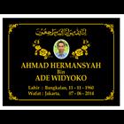 www.bengkelmarmer.com 085697971747 Pabrik Percetakan Pembuat Plakat Prasasti Batu Nisan dan Monumen Marmer Granit Bandar Lampung 7