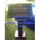 www.bengkelmarmer.com 085697971747 Meja Mimbar Standing Podium Plakat Batu Prasasti Peresmian Marmer Granit Untuk Acara Gedung Kantor Hotel Pabrik Bekasi 2