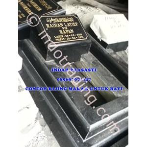 Bikin Buat Cetak Pesan  Beli Kijing Makam Bayi Tipe 4 Marmer Granit