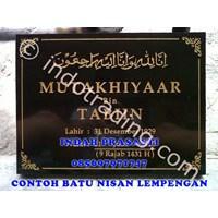 Jual Bikin Buat Cetak Pesan  Beli Batu Nisan Islam Tipe 1 Marmer Granit