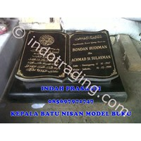 Batu Nisan Model Buku 1