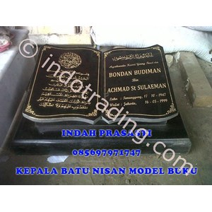 Batu Nisan Model Buku