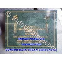 Bikin Buat Cetak Pesan  Beli Batu Nisan Islam Muslim Lempengan Marmer Granit 1
