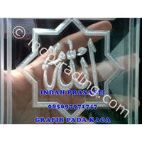 Grafir Glass Calligraphy