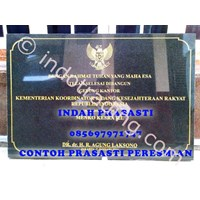 www.BENGKELMARMER.com Bikin Buat Cetak Pesan  Beli Prasasti Peresmian Marmer Granit Grafir Mesin 1