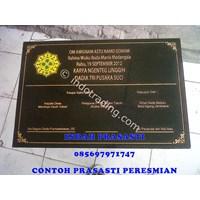 Bikin Buat Cetak Pesan  Beli Prasasti Peresmian  Bali Logo Full Color Marmer Granit 1