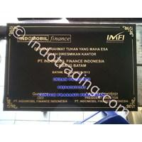 Bikin Buat Cetak Pesan  Beli Prasasti Peresmian Indomobil Marmer Granit 1
