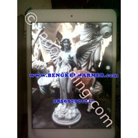Angel Statue Fibre Glass Quality No 1