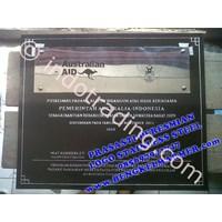 Plakat Prasasti Stainless Steel 1