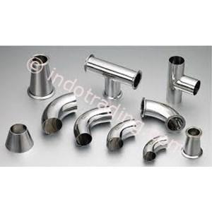 Stainless Steel Tabung Elbow Bengkok