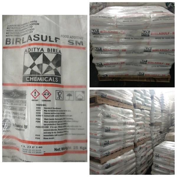 Sodium Metabisulfite Ex Thailand