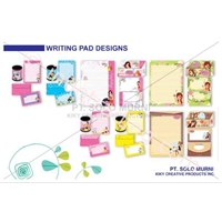 Sell Writing Pad Disain