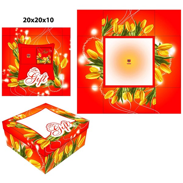 Dus Kue dan Dus Gift  ready stock dengan ukuran 20 X 20 X 10 cm