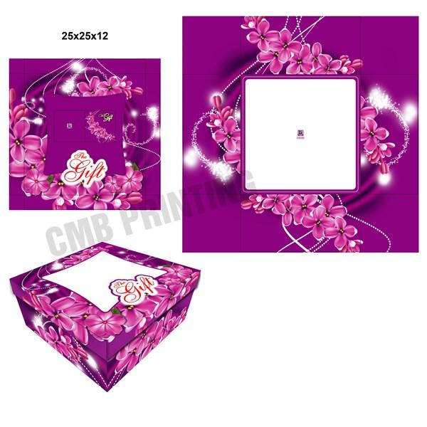 Dus Kue dan Dus Gift ready stock dengan ukuran 25 X 25 X 12 CM