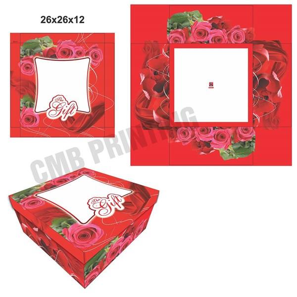 Cake Box and  Gift Box READY STOCK UK 26 X 26 X 12 CM
