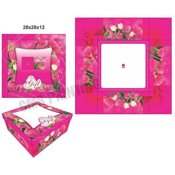 Cake Box / Gift Box READY STOCK size 28 X 28 X 12 CM