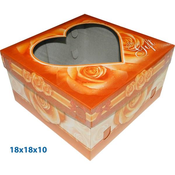 Dus Kue dan  Dus Gift ready stock dengan ukuran  18 X 18