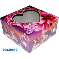 Print Packaging Box Cake and  Gift Ready Stock size 20 X 20