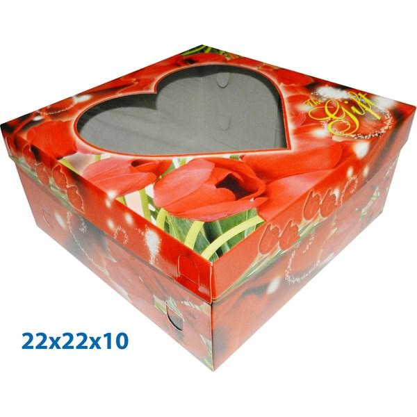 Dus Kue Dan Ds Gift ready stock dengan ukuran 22 X 22