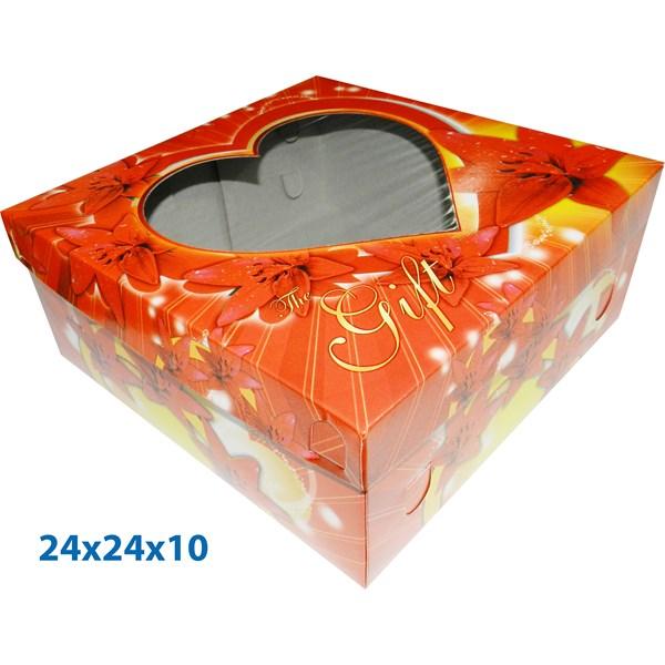 Dus Kue dan Dus Gift ready stock dengan ukuran 24 X 24cm