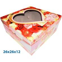Dus Kue dan Dus Gift Ready Stock ukuran 26 X 26