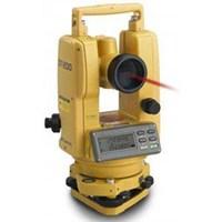 Alat Ukur Digital Theodolite Topcon DT-205L Pakai Laser Akurasi 5 Detik
