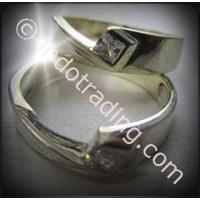 Cincin Tunangan Silver 2