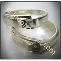 Cincin Tunangan Silver 3