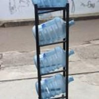 Rack Gallon Mineral Water